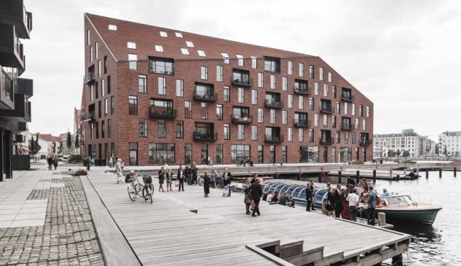 жилой комплекс в гавани, Копенгаген