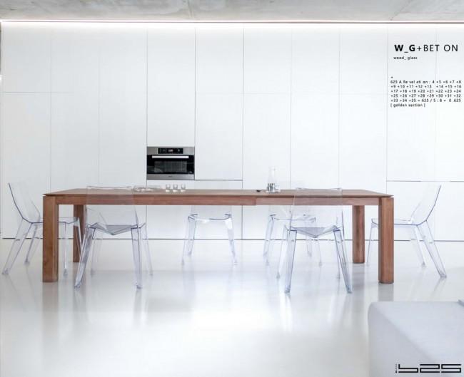 белый фронт в кухне