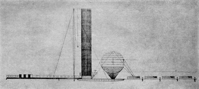 Институт библиотековедения им. Ленина в Москве на Ленинских горах