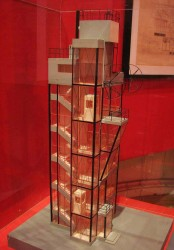 архитектура авангарда - макет башни