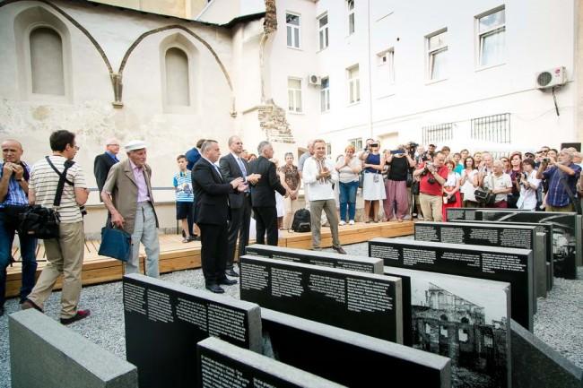 мемориал Пространство Синагог во Львове