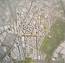 структурный план пилотного района Волковская