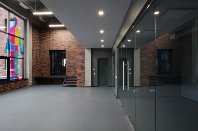 интерьер технопарка Moba Haus