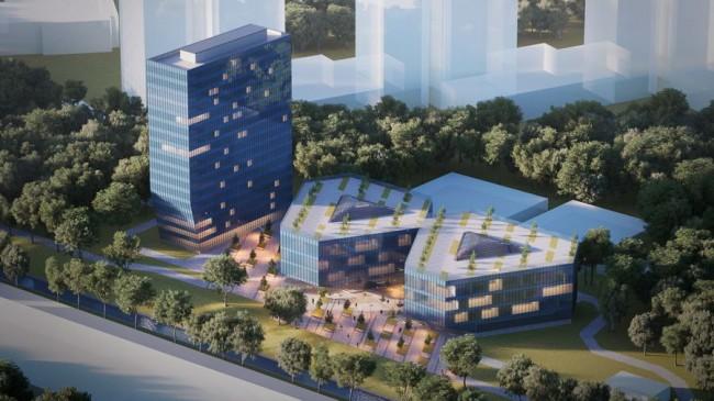здания офиса-технопарка для Кроста