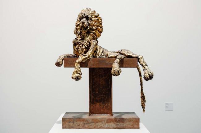Олег Кулик, Империя, 2014, металл, керамика