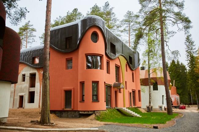 органическая архитектура в жк Прибрежный квартал