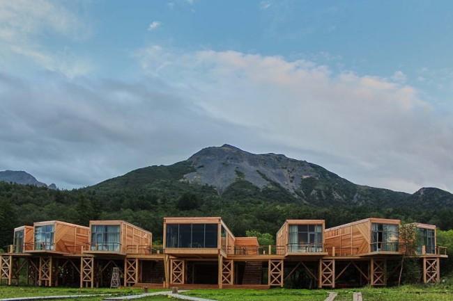 отель «Высоко в горах» на Камчатке
