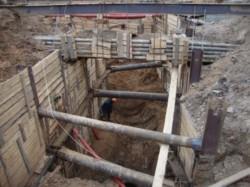 Фото2: перенос хозяйственной канализации
