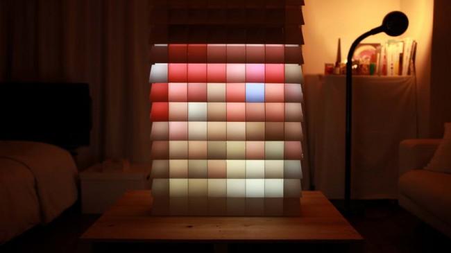 объект Пиксел в спальне