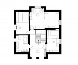 план дома до реконструкции интерьера