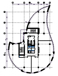 план офисного этажа