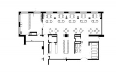 план ресторана Simple