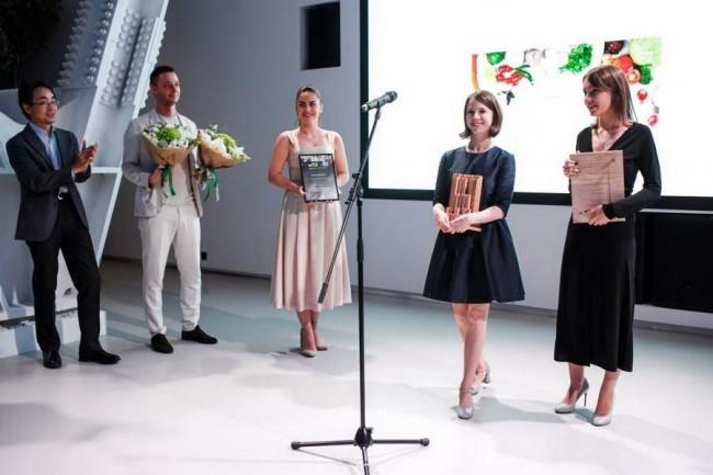 Надежда Абдуллина и Марина Егорова - победители конкурса Lexus Design Award 2018 Russia Тор Choice