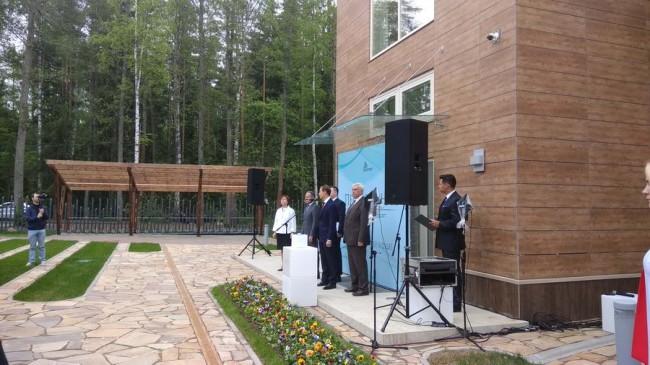 Губернатор Санкт-Петербурга Георгий Полтавченко на церемонии открытия курорта