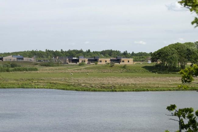 экспериментальный посёлок Sunde Boliger в Дании