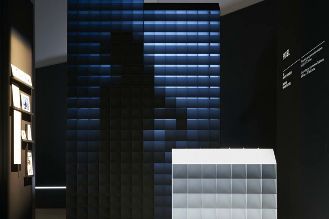 макет Пиксела на выставке