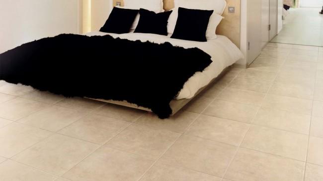плитка Rea Ivory в спальне