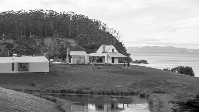 процесс реконструкции дома капитана Келли