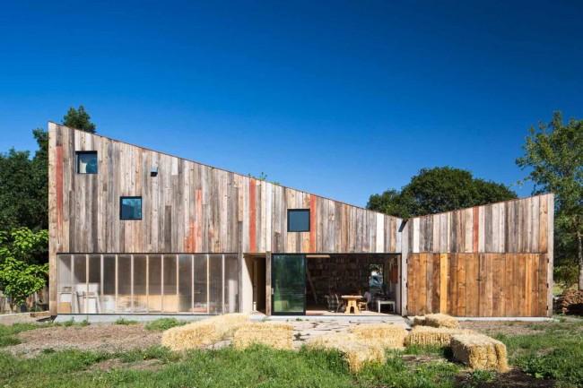 дом-студия в Северной Калифорнии, архитектор Casper Mork-Ulnes