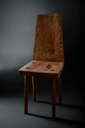 Chair #1. Стул, массив дуба, выварка в масле. Дизайн: Денис Милованов.