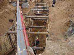 Фото1:перенос хозяйственной канализации