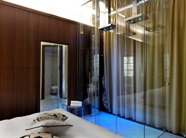 ванная комната в пентхаусе