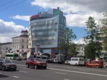 вогнутый фасад здания