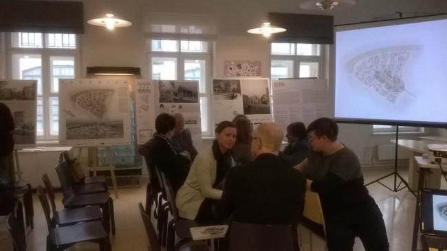 жюри воркшопа в институте Финляндии