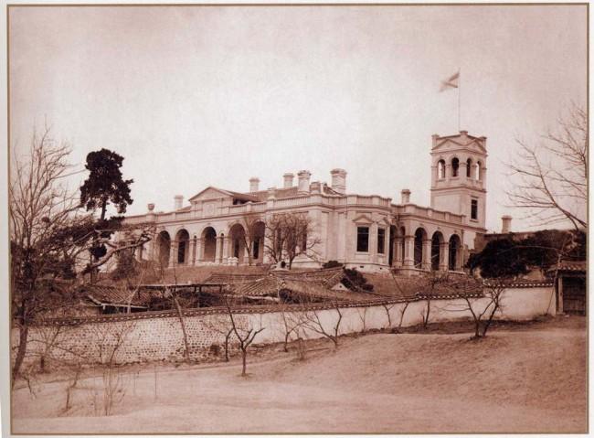 историческая фотография здания русской дипмиссии