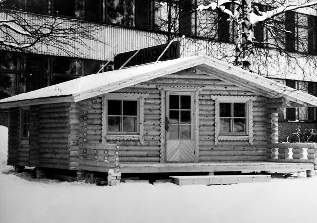 классический деревянный дом от компании Хонка