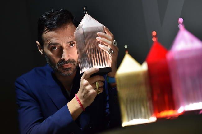 Фабио Новембре на выставке производителей мебели в Москве