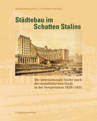 обложка книги Градостроительство в тени Сталина, издательство braun