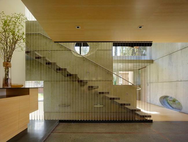 консольная лестница из бетона