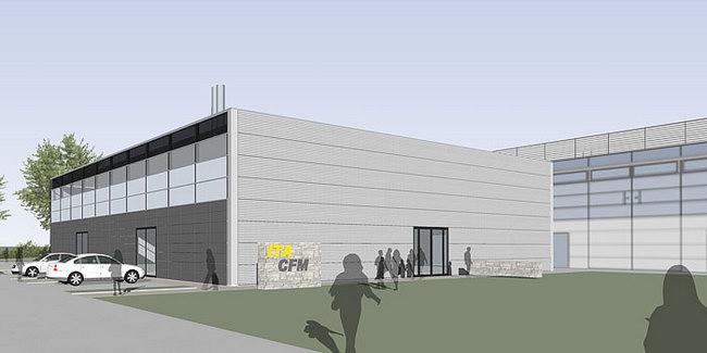 здание Института текстильных технологий в Аахене, проект Carpus+Partner AG