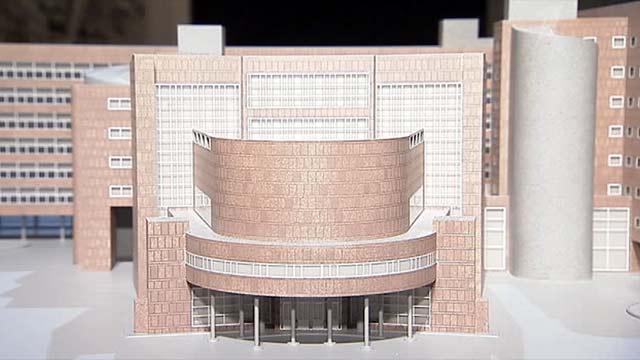 макет здания Центросоюза, Ле Корбюзье