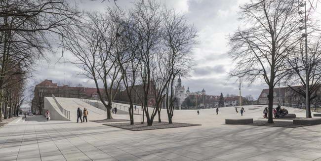 Музей на площади Солидарности в Щецине