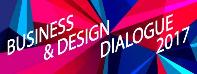 постер форума Business & Design Dialogue 2017