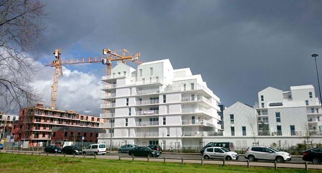 эко квартал Ginko в процессе строительства