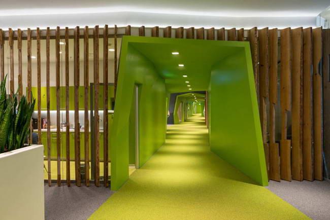 офис компании Яндекс, архитектурная мастерская Атриум