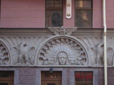 Декор для фасада в санкт петербург