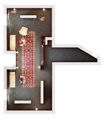 Нажмите, чтобы посмотреть в полном размере план торгового зала с расстановкой мебели Евгений Чернописский и Алексей...