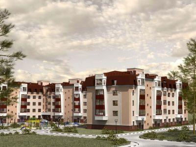 многоквартирный жилой дом в городе Сергиев Посад