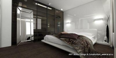 Спальная комната. Стильный шик