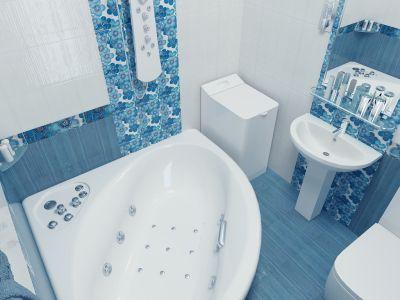 Интерьер ванной комнаты интерьер от