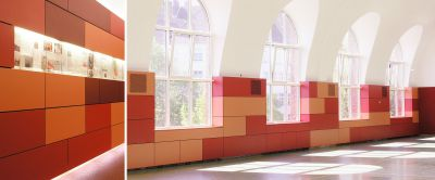 Отделка стен панелями hpl Resopal, немецкие панели Hpl для стен