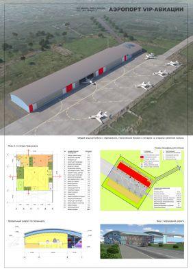 Проект VIP-терминала аэропорта в Остафьево