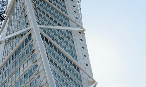 Фасад небоскреба. fasade of Turning Torso