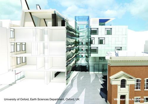 Здание  Факультета естественных наук (Earth Sciences) в Оксфорде