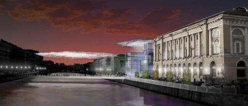 проект реконструкции Апраксина двора в Петербурге, архитектор Крис  Уилкинсон