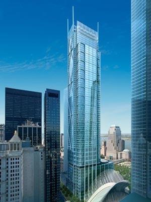 небоскреб, Всемирный Торговый Центр, архитектор Ричард Роджерс